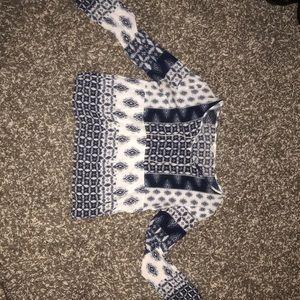 Xs Aeropostale cuffed long sleeve shirt
